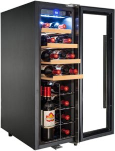 AKDY 32 BTL Electric Wine Cooler Cellar Chiller Single Zone AZ-EA44EC-75